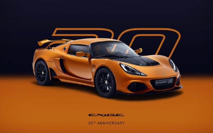 Exige Sport 410 Edisi Ulang Tahun ke-20. - LOTUS