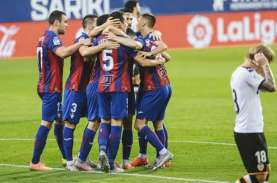 Hasil Liga Spanyol: Eibar Kalahkan Valencia Berkat…