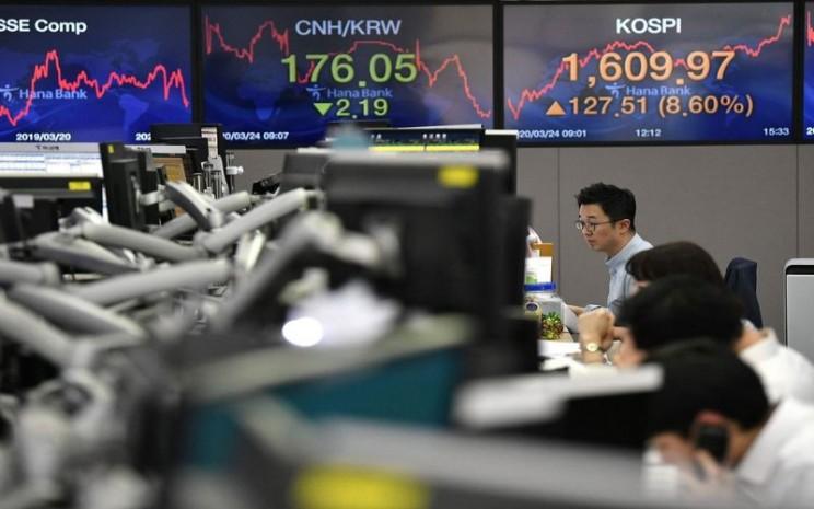 Bursa Asia -  Bloomberg.