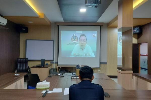Bea Cukai dan Singapore Customs Adakan Pertemuan Virtual Bahas Peningkatan Sinergi