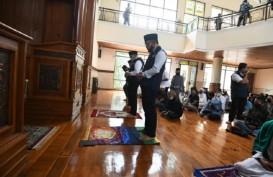 Ridwan Kamil Cek Penerapan Protokol Kesehatan di Masjid Kawasan Puncak