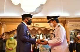 Dilantik Jadi Pj Wali Kota Makassar, Rudy Diminta Siapkan Strategi Hadapi Pandemi