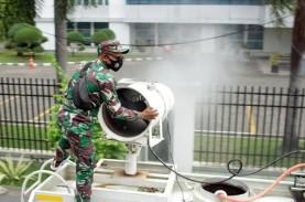 Lakukan Penyemprotan Disinfektan, Pemkot Makassar…