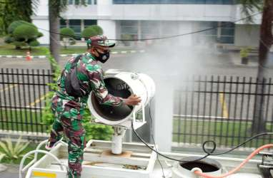 Lakukan Penyemprotan Disinfektan, Pemkot Makassar Kerahkan 3.000 Personel