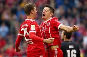 Hasil Akhir Liga Jerman, Munchen Pesta Gol, Dortmund…