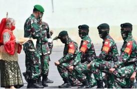 600 Personel Satgas Yonif Raider 100/PS Jaga Perbatasan Indonesia-PNG