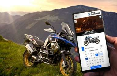 BMW Motorrad Perluas Layanan Sewa Motor