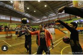 AHY 'Tantang' Follower Adu Basket 3 On 3