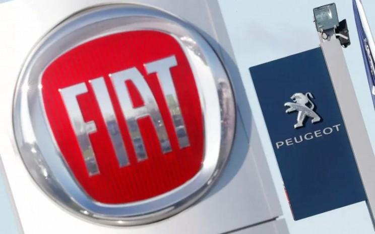 Fiat Chrisler Auto, PSA Peugeot Citron. - ANTARA