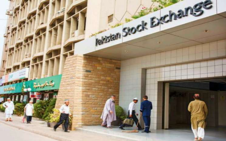 Pakistan Stock Exchange. Istimewa