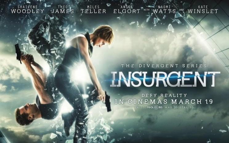 Film Insurgent di Bioskop Trans TV. - istimewa
