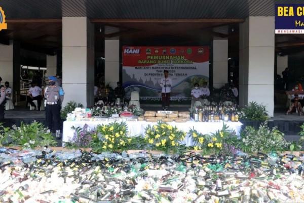 Bea Cukai dan BNN Jawa Tengah Perkuat Komitmen dan Sinergi Berantas Peredaran Narkotika