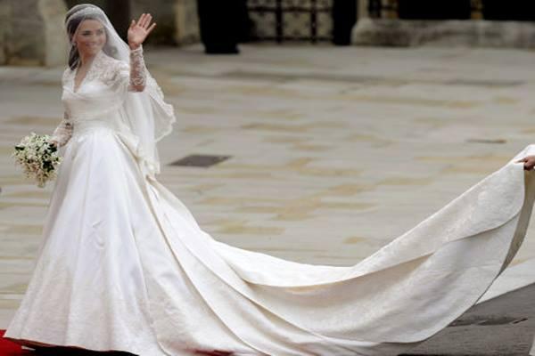 Gaun pengantin Kate Middleton - nydailynews