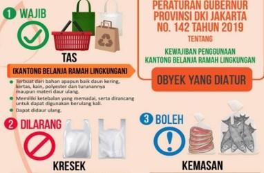 Mulai 1 Juli, Tebet Terapkan Larangan Penggunaan Kantong Plastik
