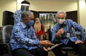 Disambangi Jokowi, Ganjar Sebutkan Tiga Zona Merah…