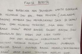 Kasus Jiwasraya: Beredar Tulisan Benny Tjokro yang…