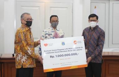 Bantu Masyarakat Terdampak Corona, LPS Serahkan Bantuan ke Pemprov DKI Jakarta