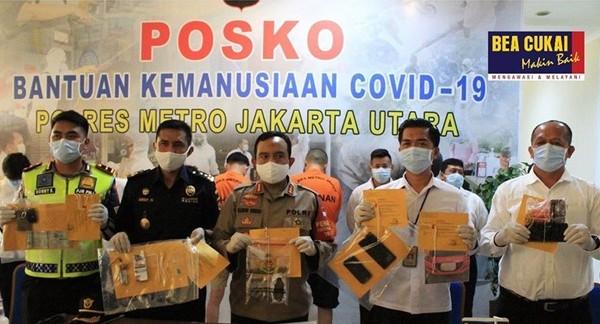 Tingkatkan Sinergi, Bea Cukai Marunda dan Polres Jakarta Utara Berhasil Tindak Narkotika