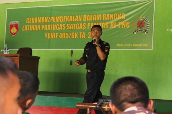 Sinergi Bea Cukai Tegal dan Pamtas RI-Malaysia Awasi Perbatasan