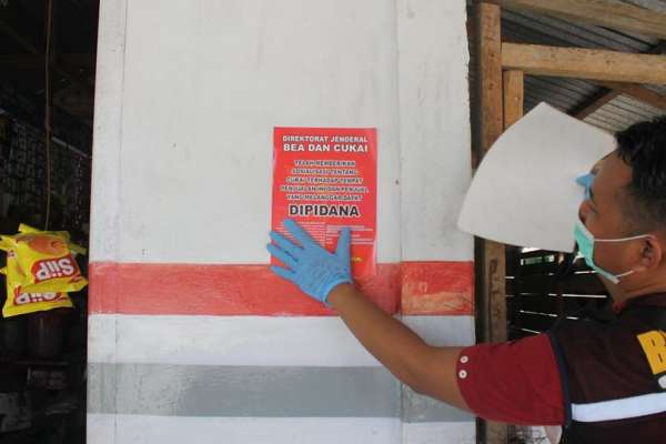 Bea Cukai Kembali Gagalkan Peredaran Rokok Ilegal di Bengkalis dan Cirebon