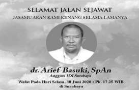 Dokter Arief Basuki Meninggal Akibat Covid-19 di RS Soetomo