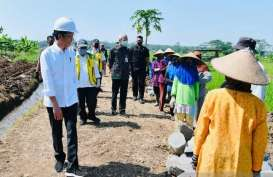 Proyek Padat Karya di Batang Bangun Irigasi Lahan 36 Hektar