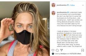 Jennifer Aniston: Gunakan Masker Untuk Melindungi…