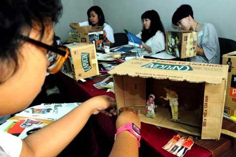 Berbekal kreativitas, para remaja mulai berwirausaha. - ilustrasi