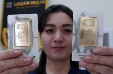 Harga Emas Global Kerek Harga Emas Antam dan Emas Pegadaian