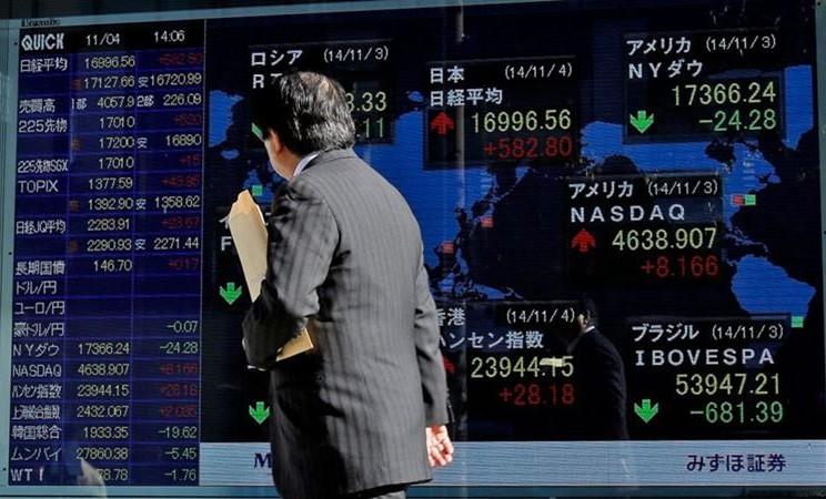 Bursa Saham Tokyo. - Kiyoshi Ota / Bloomberg