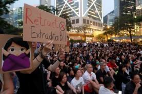 UU Keamanan Nasional Disahkan, Demonstran Hong Kong…