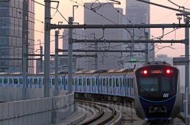 Penumpang MRT Jakarta Melonjak Selama PSBB Transisi