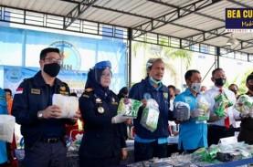 Sinergi Bea Cukai Aceh dan BNN Bongkar Penyelundupan…