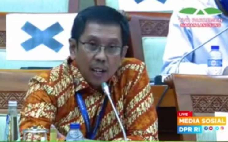 Direktur Utama Waskita Karya Destiawan Soewardjono. - TV Parlemen