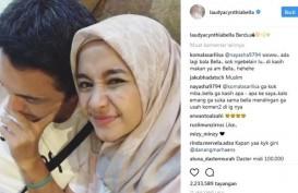 Netizen Minta Laudya Cynthia Bella Sabar, Engku Emran Unfollow Instagramnya