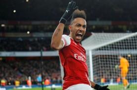 Hasil Liga Inggris : Arsenal Pesta Gol, Leicester…