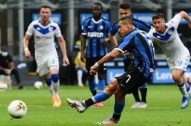 Hasil Liga Italia : Inter Pesta Gol, Milan Diselamatkan…