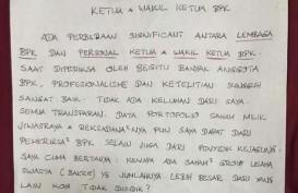 Tulisan Tangan Benny Tjokro Sebut BPK Terbelah dalam Kasus Jiwasraya