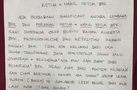 Tulisan Tangan Benny Tjokro Sebut BPK Terbelah dalam…