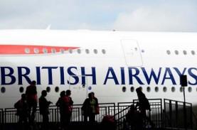 British Airways Lakukan PHK terhadap 350 Pilot