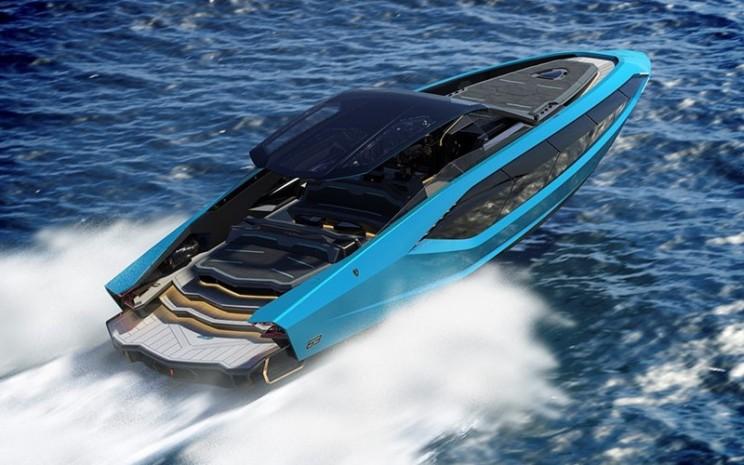 Tecnomar for Lamborghini 63, terinsipirasi dari mobil sport mewah.  - LAMBORGHINI