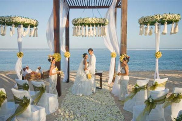 Pesta pernikahan di Bali - Istimewa