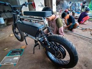 Sepeda Listrik Buatan Indonesia Berhasil Tembus Pasar Internasional