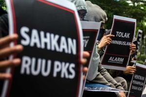 Aliansi Rakyat Menggugat Gelar Aksi di Bandung