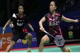 Semifinal PBSI Home Tournament: Akbar/Winny Vs Rinov/Pitha