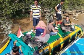 Perahu Motor Terbalik di Kalimantan Utara, Belasan…