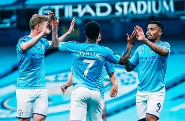 Hasil Man City Vs Liverpool: City Hancurkan Liverpool, Sterling Dua Gol