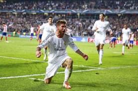 Hasil Liga Spanyol : Madrid Menang Gol Penalti, 4…