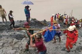 Tambang Giok di Myanmar Longsor, Sedikitnya 162 Orang…