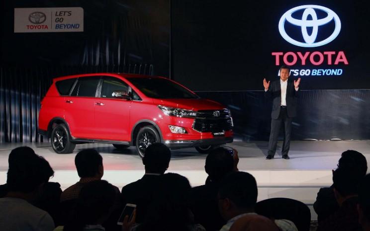 Peluncuran Toyota Kijang Innova Venturer diluncurkan di Jakarta.  - BISNIS.COM/Dwi Prasetya